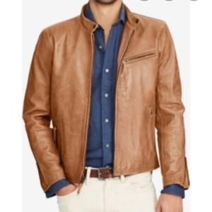 NWOTPolo ralph lauren 100% Lambskin leather jacket